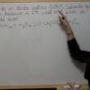 Ejercicio Ácido Base 10: Cálculo del grado de disociación de un ácido débil a partir del pH