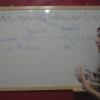 Ejercicio 13: Ajuste de la reacción redox en medio ácido entre el permanganato, KMnO4, y el agua oxigenada, H2O2)