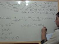 Ejercicio redox 25: cálculo de la cantidad de sulfuro de hidrógeno que reacciona con una disolución de ácido nítrico