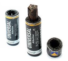 Funcionamiento de las pilas alcalinas o pilas tipo mallory - Tipos de pilas alcalinas ...