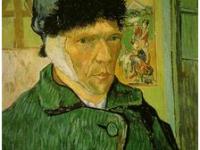 autorretrato de Van Gogh con oreja vendada
