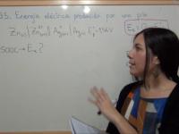 Ejercicio redox 35: Cálculo de la energía eléctrica suministrada por una pila galvánica