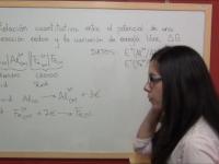Ejercicio redox 38: Cálculo de la energía libre de Gibbs a partir de la fuerza electromotriz de una pila galvánica