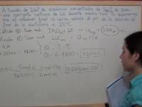 Ejercicio Redox 44: Cálculo del pH final de una disolución electrolítica de NaCl