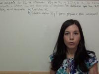 Equilibrio químico Ejercicio 5: reacción de N2 y H2 para síntesis de amoníaco, NH3
