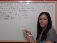 Equilibrio Químico Ejercicio 7: cálculo de Kp para la descomposición del COCl2