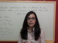 Teoría redox 4.9: Relación entre la variación de energía libre de Gibbs y el potencial estándar de una pila galvánica