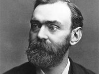 Alfred Nobel: inventor del TNT, nitroglicerina estabilizada con tierra de diatomeas