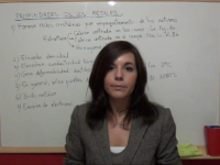 Vídeo propiedades de los compuestos metálicos