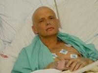 Alexander Litvinenko tras su envenenamiento con polonio 210