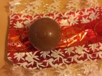 Bombón de chocolate: atracones navideños