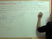Trabajo de expansión de un gas en un pistón