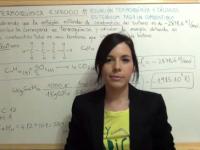 Ejercicio 11 termoquímica: poder calorífico butano