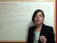 variación energía interna en el amoníaco
