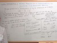 Quinto apartado del tema de termodinámica química