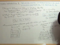 Octavo apartado del tema de termodinámica química