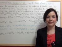 Ley de Hess de la reacción de producción de acético con etanol