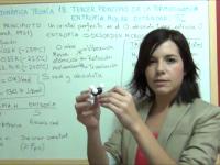 Teoría 18 de termoquímica sobre entropía molar estándar