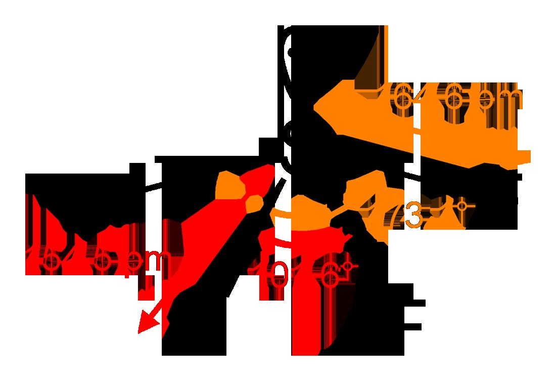 Molécula de SF4: ángulos de enlace y distancias de enlace