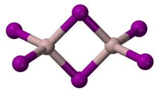 Dímero del yoduro de aluminio de fórmula Al2I6