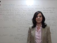 Ejercicio 36 termoquímica: espontaneidad de una reacción y cálculo de la energía libre