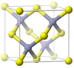 Estructura cristalina del fosfuro de aluminio, AlP