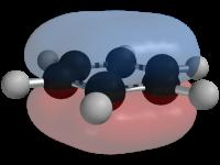 Densidad electrónica del benceno