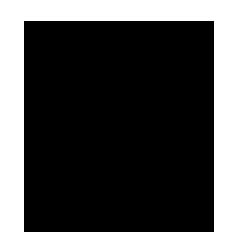 Estructura química del tiofeno, heterociclo con azufre