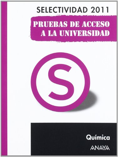 Portada libro preparar química Selectividad 2011