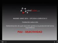 Ejercicio química selectividad Madrid junio 2014 Redox plata y cadmio