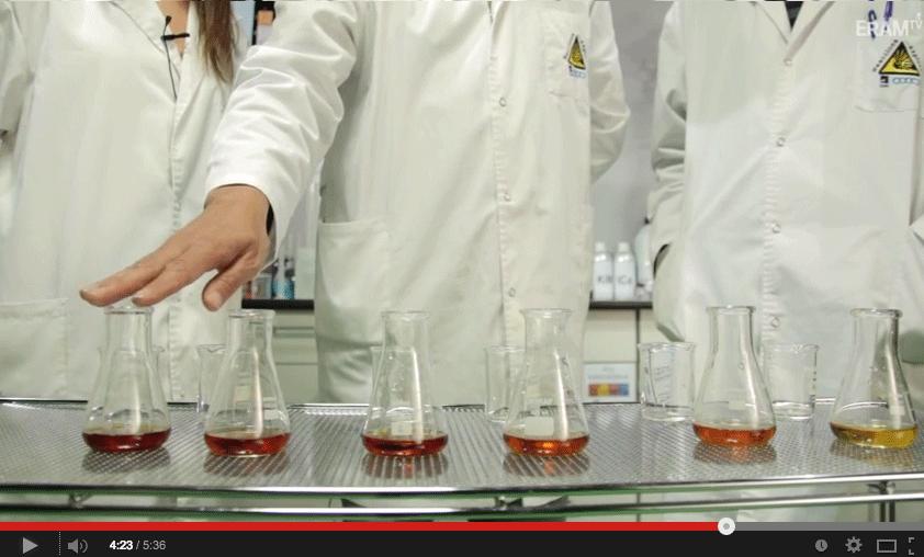 Cinética química reacción peroxodisulfato y yoduro