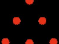 Estructura de la hipotética 1,3,5-trioxanotriona