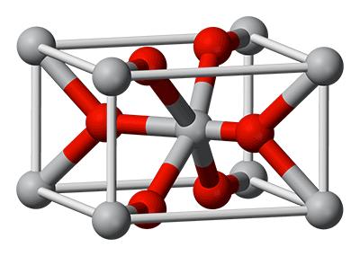 Celdad unidad del dióxido de titanio