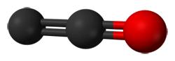 Estructura química del monóxido de dicarbono