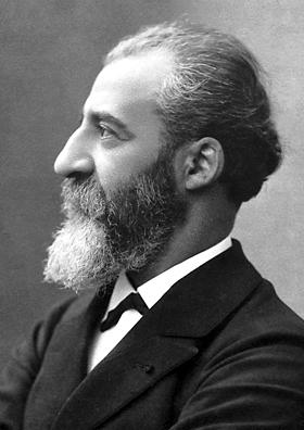 Retrato de Henri Moissan