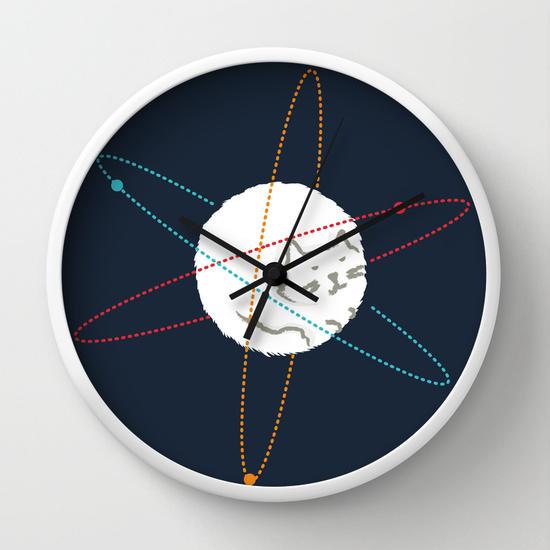 Reloj de pared cat-ion