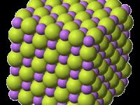 Fluoruro de litio: estructura