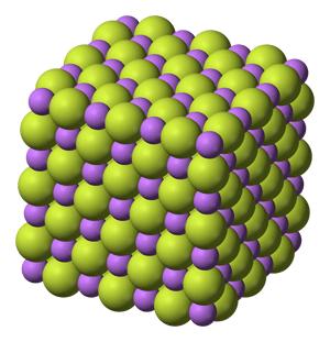 Estructura del fluoruro de litio