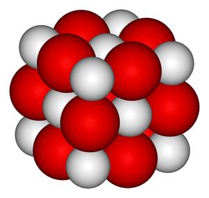 Estructura del óxido de calcio CaO