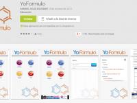 Aplicacion para formulación: YoFormulo