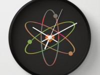 Reloj de pared Science Rules