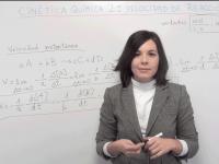 Cinética química: vídeo de teoría 2