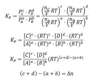 Deducción de la relación entre Kp y Kc