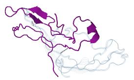 Estructura terciaria subunidad alfa