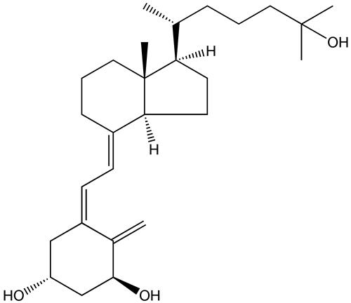 Calcitriol: forma activa de la Vitamina D