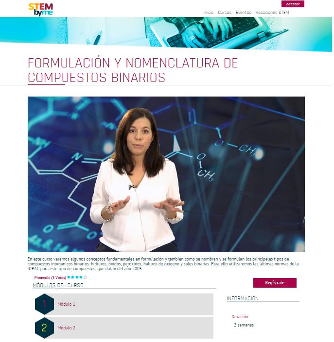 Nuevos cursos de formulación inorgánica en Stembyme… ¡Gratis!