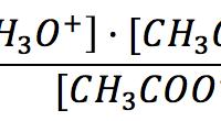 Constante de acidez del ácido acético