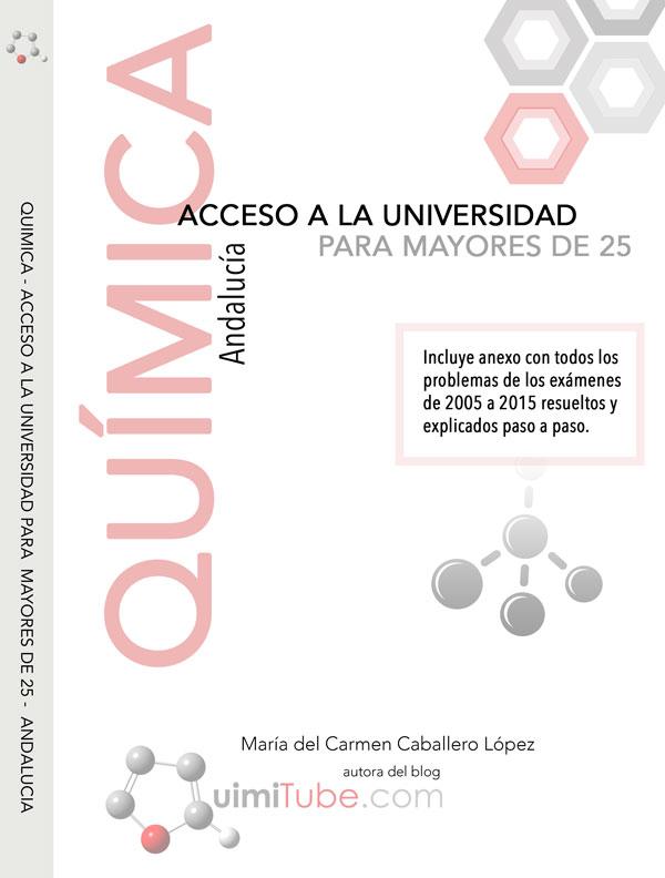 Libro química mayores de 25 años Andalucía