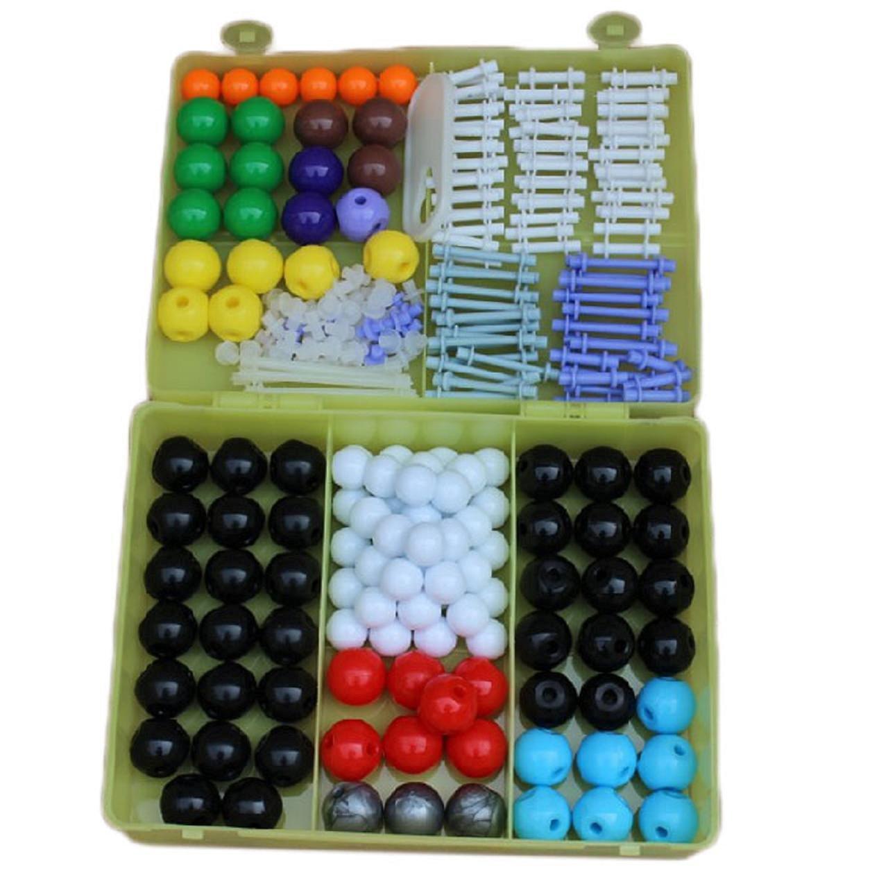 Modelo molecular de bolas y varillas