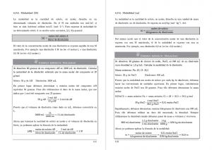 Libro mayores de 25 de Andalucía Química disoluciones y ejemplos resueltos